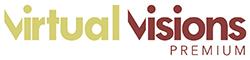 Virtual Visions Premium Logo